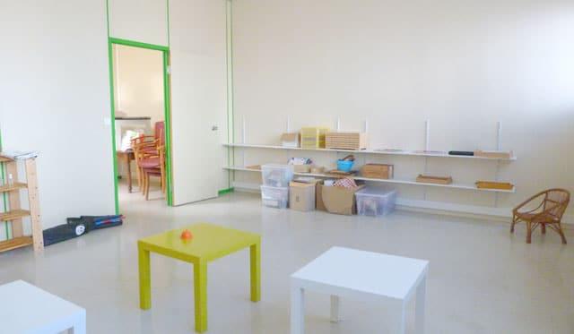 La classe Montessori des 3-6 ans après aménagement