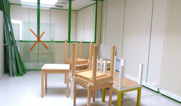 L'espace commun de l'école Montessori de Tours